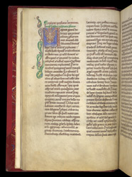 Decorated Initial, In Robert de Torigni's 'Chronological History Of The World To A.D. 1169' f.4v